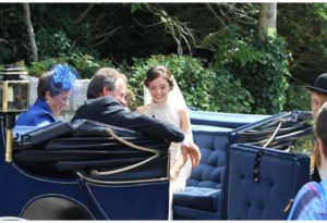 It will be a stylish marriage, you can afford a carriage