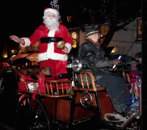 Santa comes to Malahide
