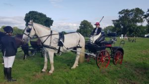 Tullow Agricultural Show - Silver put to a competition vehicle
